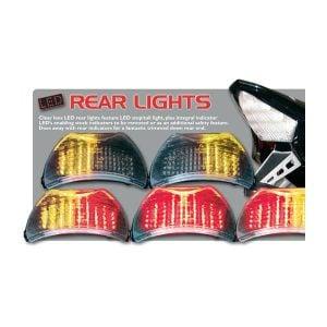 LED-baklampa med integrerad blinkers-313