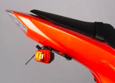 Tail Tidy - R&G Racing - Kawasaki Z750/Z1000-LP0048BK