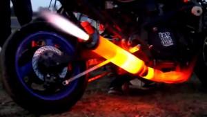 exhaustflame