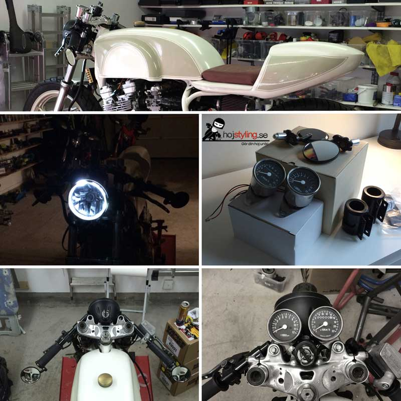 cafe-racer-collage-styre-framlampa-clip-on