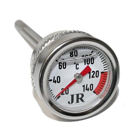 Oljesticka med inbyggd termometer