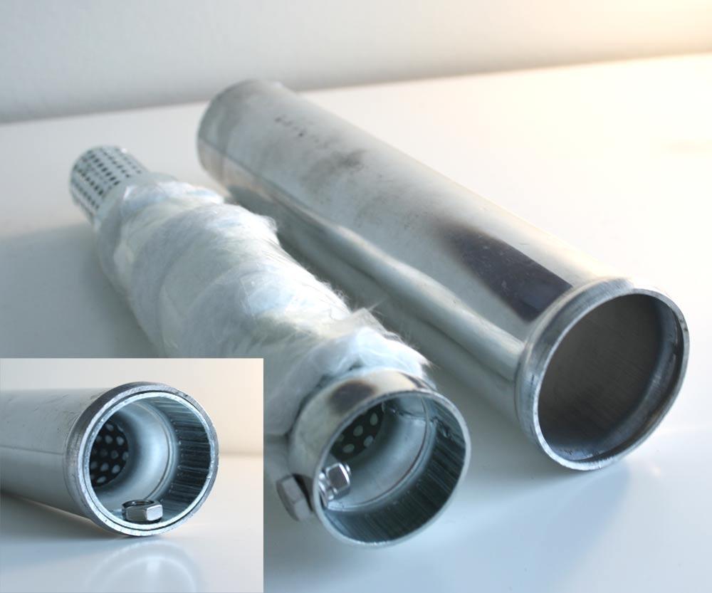 3. Sänka ljudnivån på ljuddämpare och avgasrör med raka och vinklade utblås b83629d5f1917