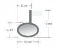measures backspegel styre ferrara mc spegel back